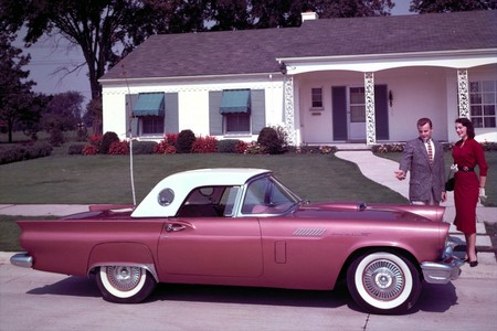 Ford Thunderbird 1957 1