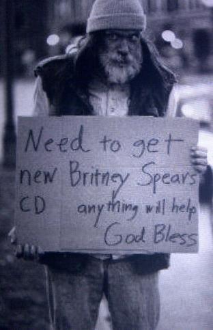 Vagabundo Britney Spears
