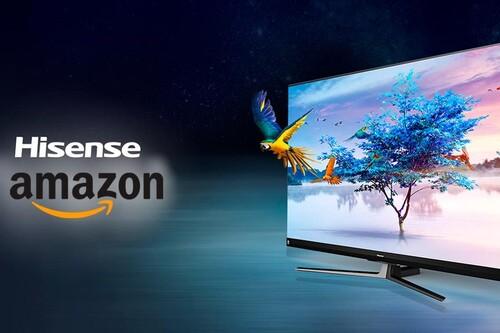 Estas 6 smart TVs de Hisense están superrebajadas esta semana en Amazon
