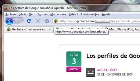 Locationbar² hace que la barra de direcciones de Firefox sea más funcional