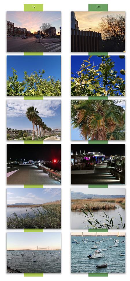 Huawei P30 Pro Comparacion Zoom