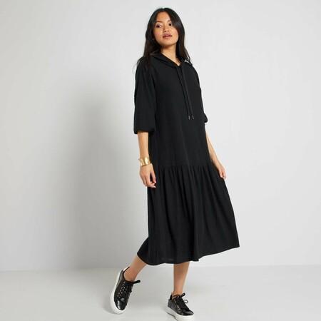 Vestido De Canale Negro Mujer Talla 34 A 48 Yp269 1 Zc1
