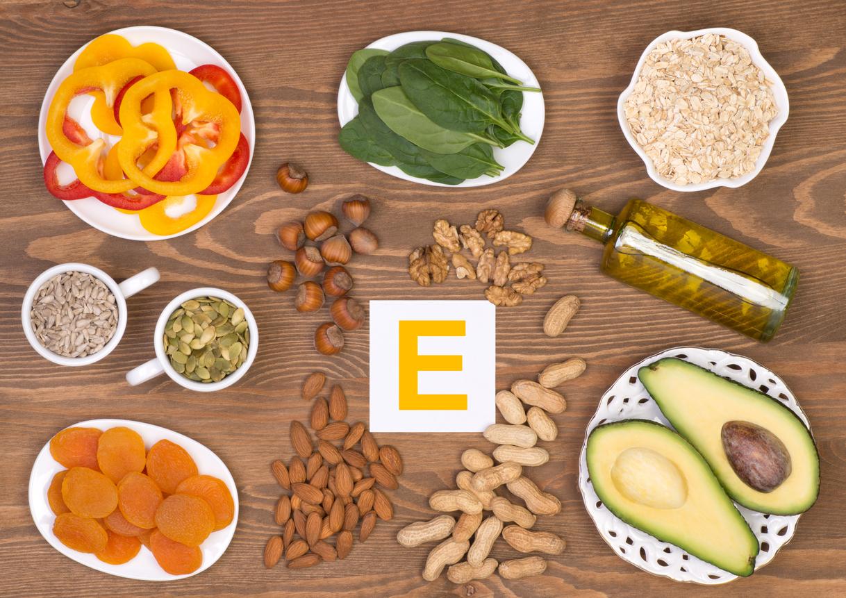 Top 9 de alimentos ricos en vitamina e for Comidas con d