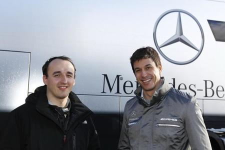 Mercedes AMG y Robert Kubica contentos con su nueva relación