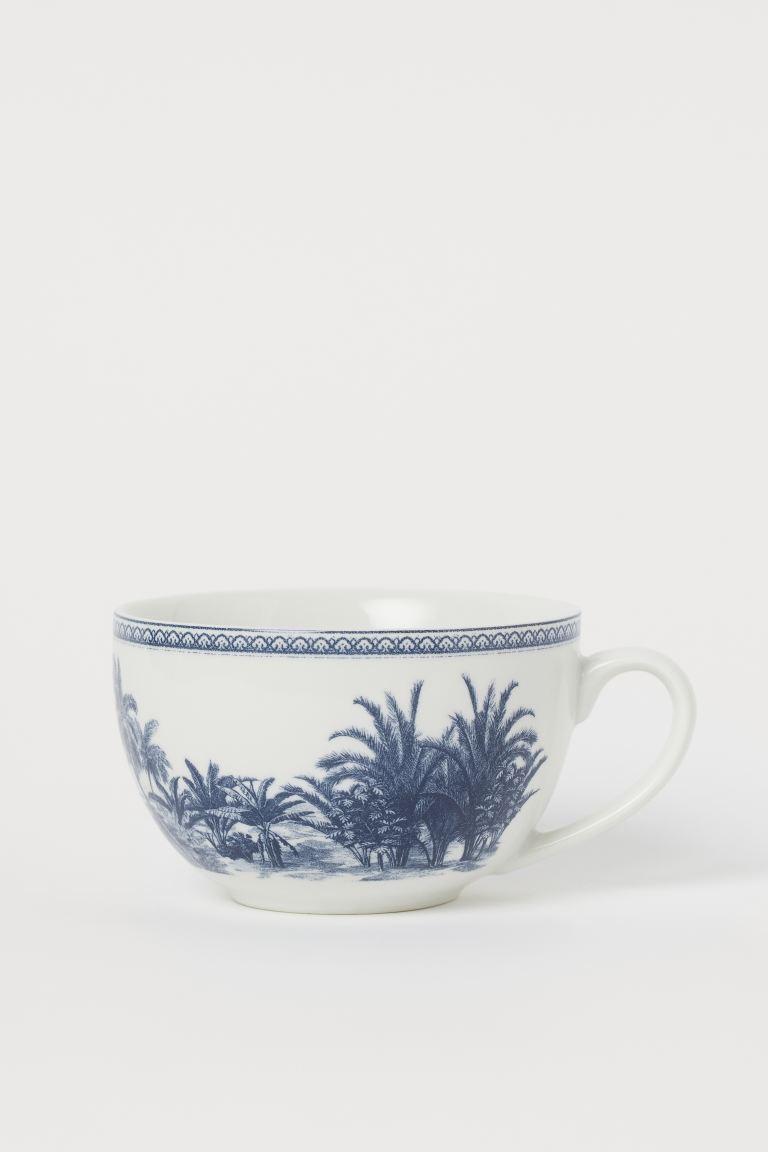 Taza de porcelana