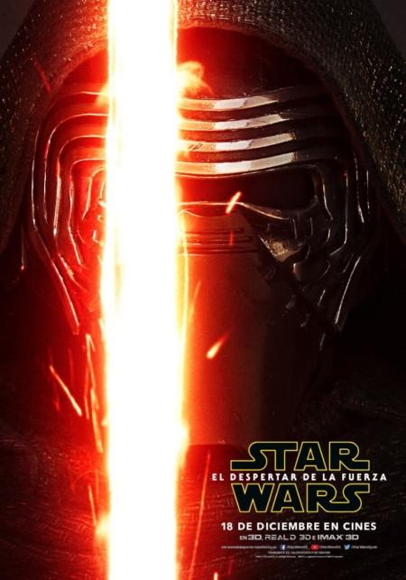 Star Wars 7 El Despertar De La Fuerza Imagenes Nuevos Carteles De Los Protagonistas 3 Kylo Ren