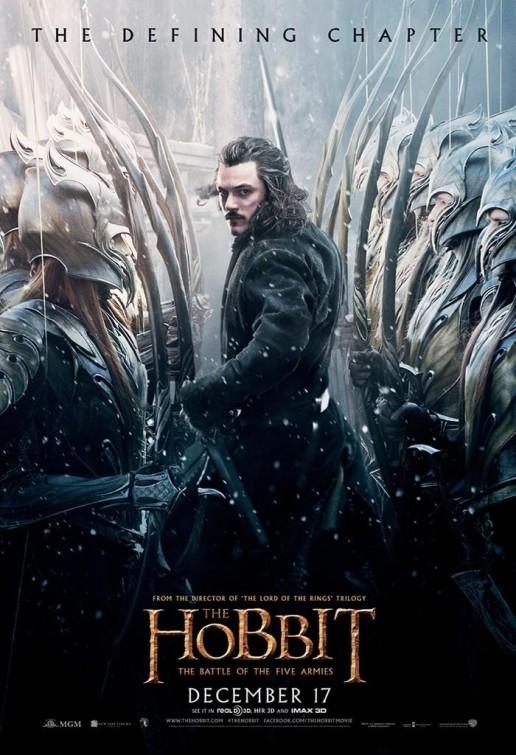 Foto de 'El hobbit: La batalla de los cinco ejércitos', carteles (16/29)
