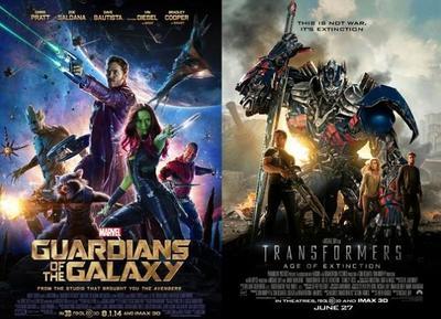 Las películas más taquilleras de 2014