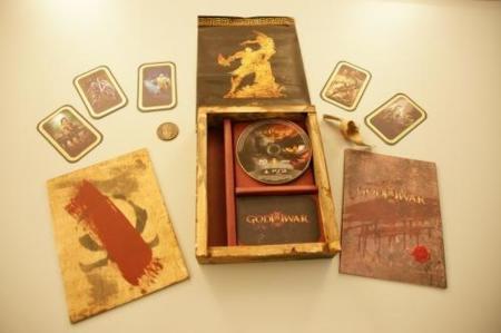 God of War III en edición de coleccionista y GoW I y II remasterizadas