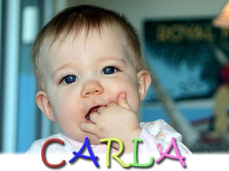 Los nombres de bebé más utilizados en España: Carla