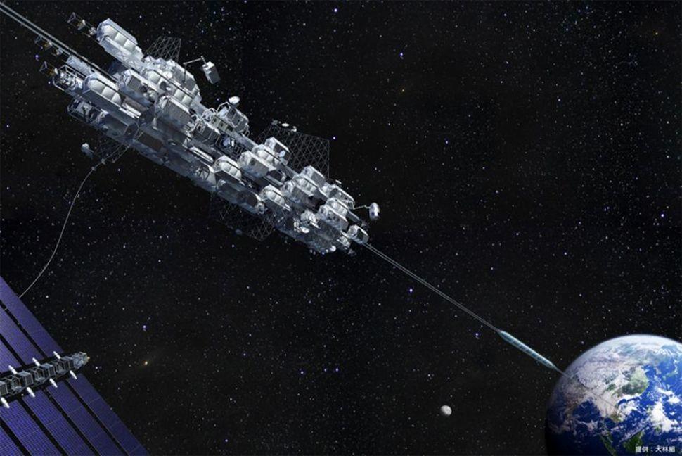"""El ascensor espacial diseñado por Japón quiere llevarte """"en autobús"""" a una estación espacial en ocho días"""