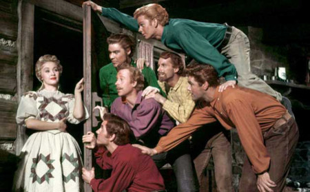 Seven Brides In Textlargest