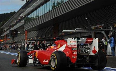 GP de Bélgica F1 2011: Fernando Alonso carrera