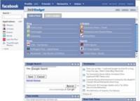 360 Gadget, aplicación de página de inicio para Facebook