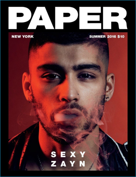 Zayn Malik 2016 Cover Photo Shoot Paper Magazine 001