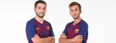 El FC Barcelona ya forma parte de los esports y Alex Alguacil y Pau Lara vestirán los colores blaugranas en PES 2019