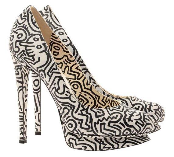 Keith Haring tacones