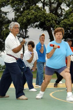 Programa de ejercicios para aliviar la artritis