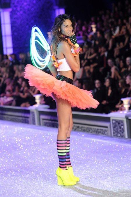Chanel Iman Victorias Secret Fashion