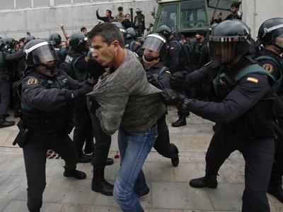 Así está siendo la ofensiva por impedir el referendum en Cataluña
