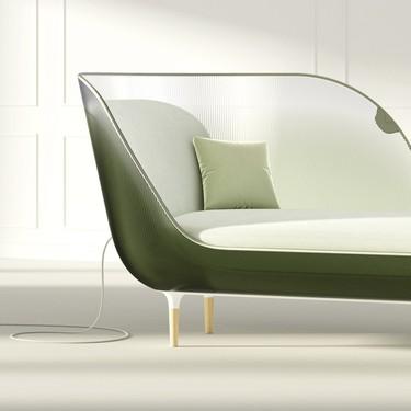 Un collar inteligente capaz de suministrar crema solar y un sofá que regula la temperatura corporal: así podría mezclarse belleza y tecnología en un futuro apocalíptico