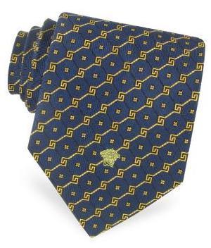 Versace: corbatas con diferentes motivos