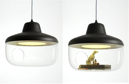 Lámparas expositoras de Chen Karlsson