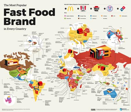 Comida Rapida Mapa
