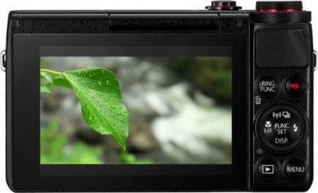Canon G7 X pantalla