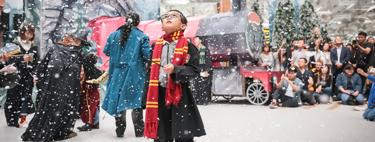 El aeropuerto de Singapur se ha transformado en el mágico mundo de Harry Potter