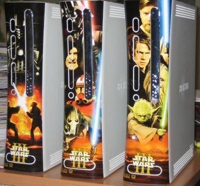 XBox 360 y sus carcasas de Star Wars