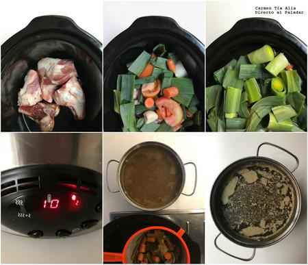 Paso A Paso Caldo De Carne En Crock Pot
