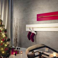 ¡Ya no necesitamos una chimenea!, estos radiadores son ideales para colgar los calcetines en Navidad