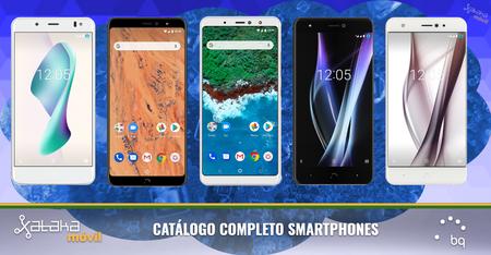 bq Aquaris X2 Pro y bq Aquaris X2, así encajan dentro del catálogo completo de smartphones bq en 2018