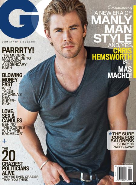 ¡Sí señor! Chris Hemsworth es el más macho