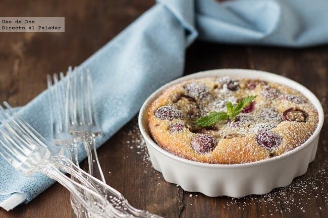 Receta de clafoutis de cerezas, un clásico que siempre triunfa