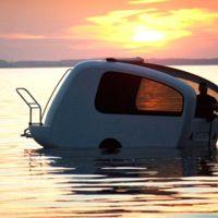 ¿Te vienes a navegar un rato con mi caravana?
