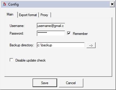 Haz una copia de seguridad de tus documentos en Google Docs con GDocBackup