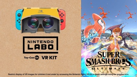 Así se ve y se juega a Super Smash Bros. Ultimate con la realidad virtual de Nintendo Switch