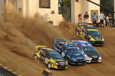En USA les pica el gusanillo del rallycross