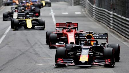 Verstappen Vettel Monaco Formula 1 2019