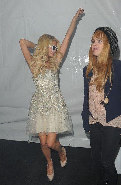 Paris Hilton Fiesta Navidad