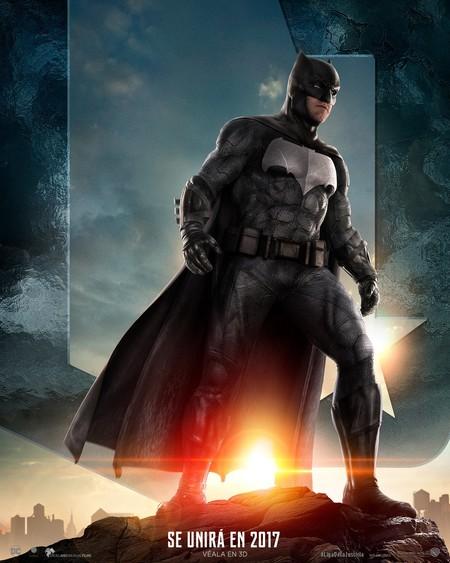 Liga De La Justicia Poster De Batman