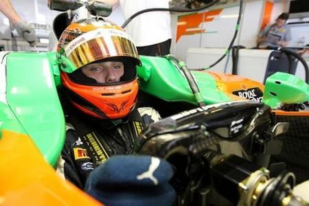 Max Chilton avisa a Force India que cuenta con 12 millones de euros