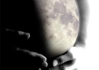 Calendario lunar para conocer el momento del parto (agosto de 2009)