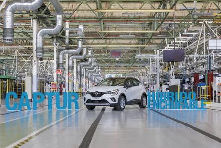 Renault Captur hibrido enchufable