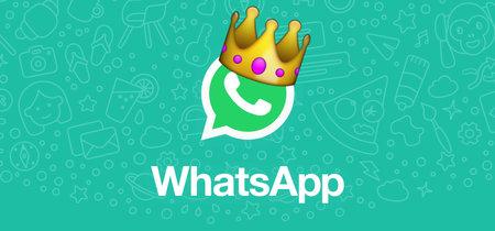 WhatsApp sigue superando a sus rivales: 1.500 millones de personas la eligen cada mes