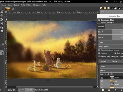 GIMP se actualiza con mejoras en diseño, gestión de color y herramientas de dibujo