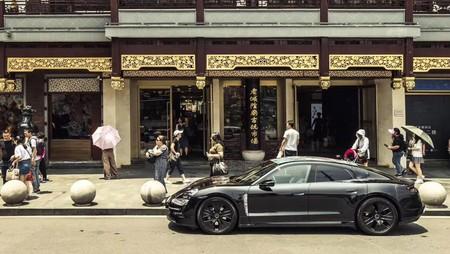 Low Taycan Prototype Shanghai 2019 Porsche Ag 3