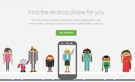 Google ahora te ayuda a escoger el Android perfecto para ti